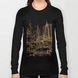 New York! Night Long Sleeve T-shirt