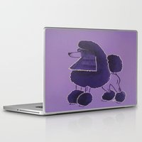 poodle Laptop & iPad Skins featuring Poodle Doodle by Jill Pace