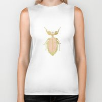 bug Biker Tanks featuring Bug by Very Sarie
