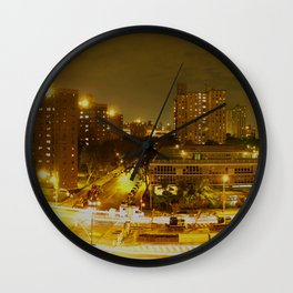 New York Skyline 2 Wall Clock