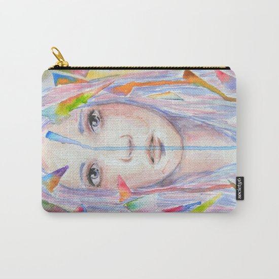 Rainbow eyes Carry-All Pouch