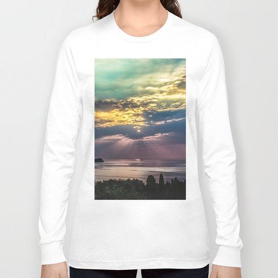 Cloudy sunrise Long Sleeve T-shirt
