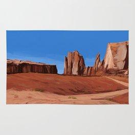 Desert Landscape Rug