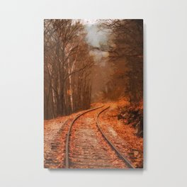 New Hampshire Landscape Metal Print