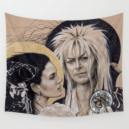 """And I have done it all for you"" Wall Tapestry"