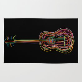 Color acoustic Rug