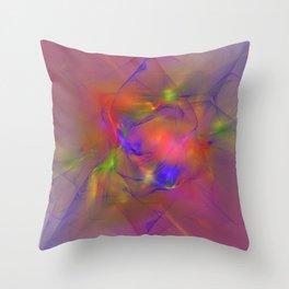 Folds of Pride Alt 2 Throw Pillow