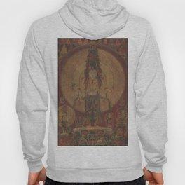 Eleven-Headed, Thousand-Armed Bodhisattva of Compassion 16th Century Classical Tibetan Buddhist Art Hoody