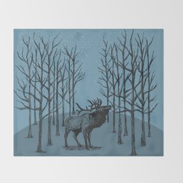 Wilderness Throw Blanket
