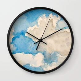 Blue Sky Day Wall Clock
