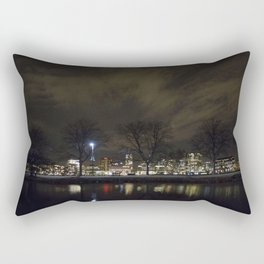 Clouds Over the Charles Rectangular Pillow
