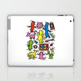 Haring - Simpsons Laptop & iPad Skin