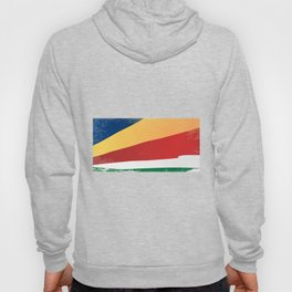 Seychelles Grunge Flag Hoody