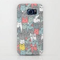 Cats family Galaxy S8 Slim Case