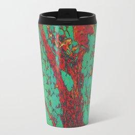 psychedelic cell pt4 Travel Mug