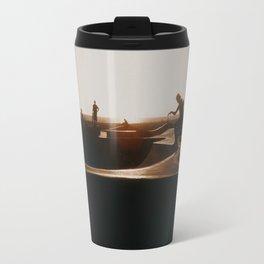 Venice beach skateboarder Travel Mug