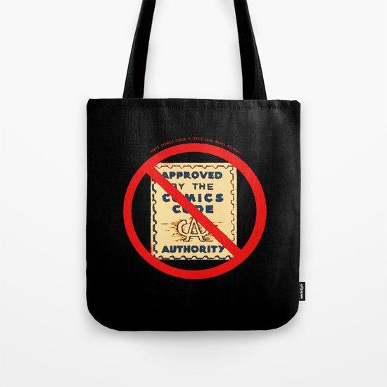 ANTI COMIC CODE 009 Tote Bag