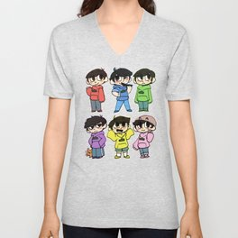 Mr Osomatsu Unisex V-Neck