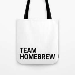 Team Homebrew Tote Bag
