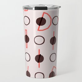 Simple circle line print Travel Mug