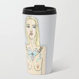 Life Is A Bitch Travel Mug