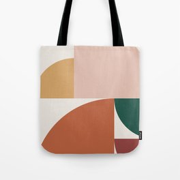 Abstract Geometric 10 Tote Bag