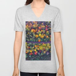The Autumn Forest (Color) Unisex V-Neck