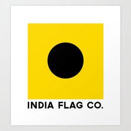 India Flag Co. Original Art Print