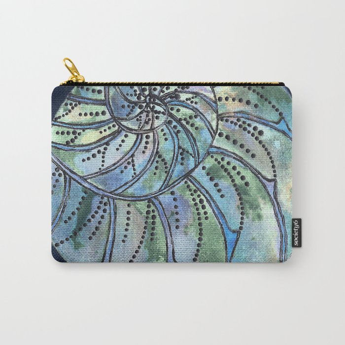 Dreaming Shell Carry-All Pouch