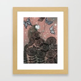 Night Garden (1) Framed Art Print
