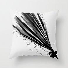 A Dark Knight Throw Pillow