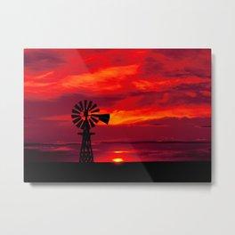 Carol M Highsmith - Windmill, Colorado Metal Print