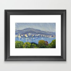 Monet Study Framed Art Print