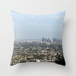 MORNING SKYLINE Throw Pillow