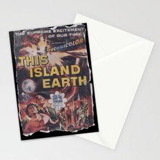 This Island Earth: Pulped Fiction Edition Stationery Cards
