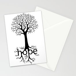 Hope Takes Roots Stationery Cards