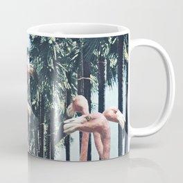 Palm Trees & Flamingos Coffee Mug