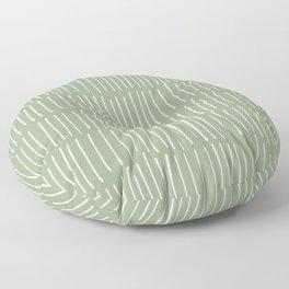 Boho Wall Art, Colour Prints, Sage Green, Line Art Floor Pillow