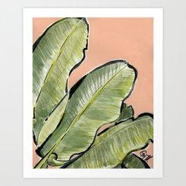 Palm Leaf No.1 Art Print