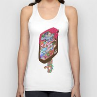 icecream Tank Tops featuring Icecream pop by makapa