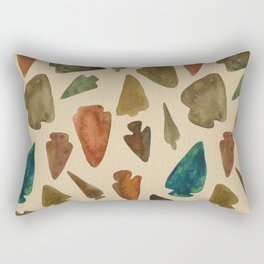 Arrowheads Rectangular Pillow