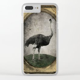 Sir Chandler Clear iPhone Case