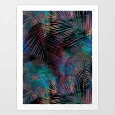 Tamarindo Night Art Print