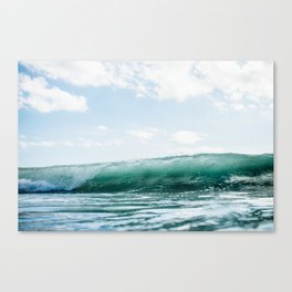 The Ocean Calms My Restless Soul Canvas Print