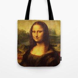 Leonardo Da Vinci Mona Lisa Painting Tote Bag