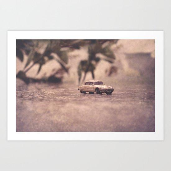 Julians Journey 6 | in the midst of the storm Art Print