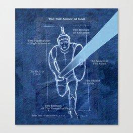 Full Armor of God - Warrior 2 Canvas Print