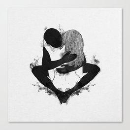 Passionate love. Canvas Print