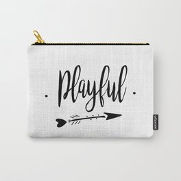 Playful Lettering-PM coll Carry-All Pouch