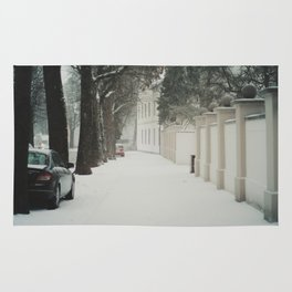 snow in wels (1) Rug